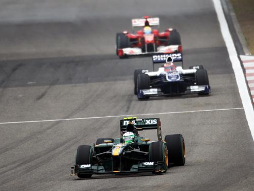 Heikki Kovalainen on his way to 14th