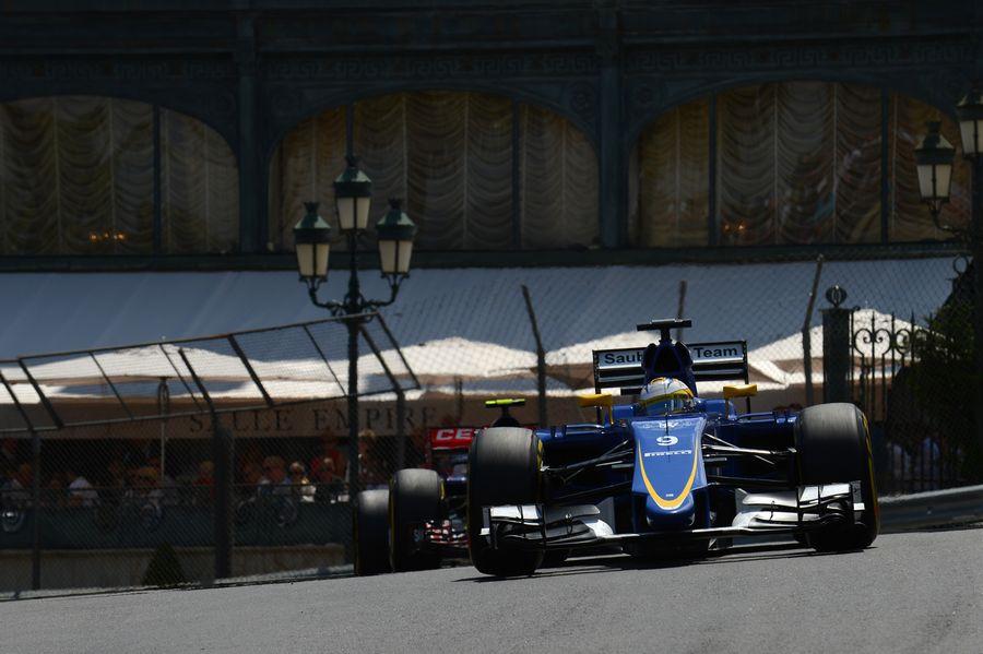 Marcus Ericsson exits Casino Square