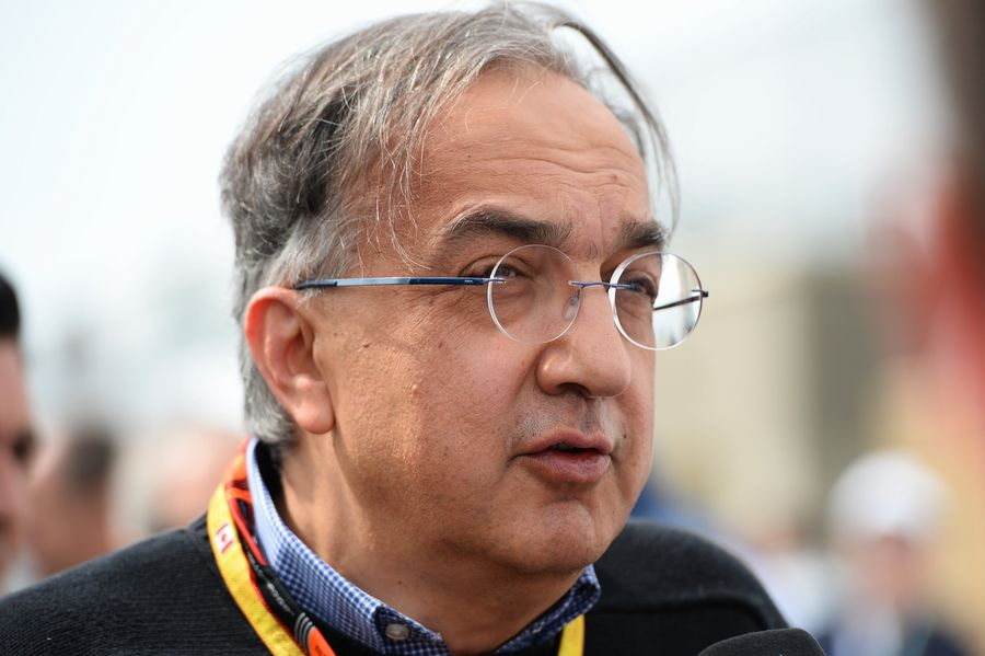 FIAT CEO and Ferrari president Sergio Marchionne visits Montreal