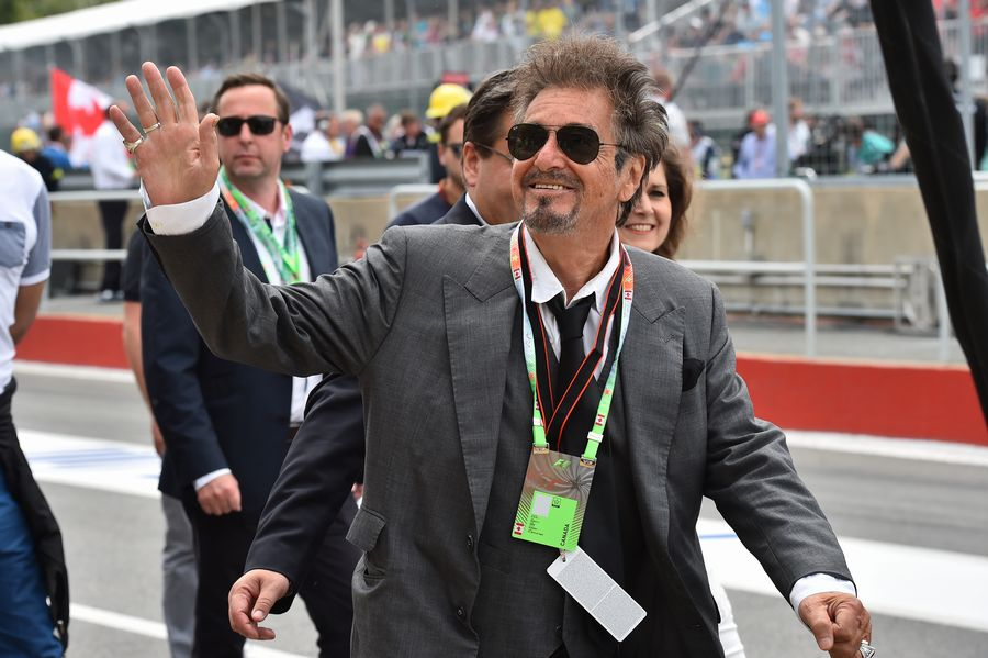 Al Pacino visits the Canadian Grand Prix