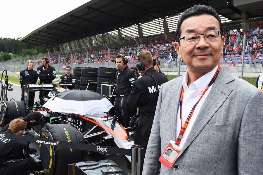 Honda CEO Takahiro Hachigo on the grid