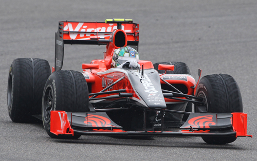 Lucas di Grassi in action before his early retirement