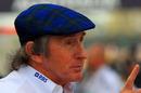 Sir Jackie Stewart in the paddock