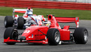 Philipp Eng leads Jolyon Palmer on his way to victory