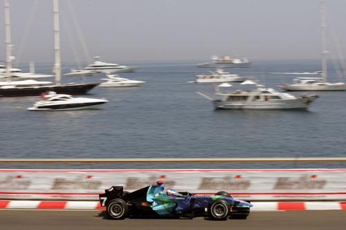 Jenson Button at the Monaco Grand Prix