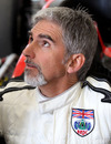 BRDC president Damon Hill at the launch of the new circuit at Silverstone