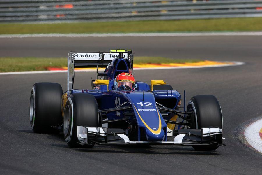 ステアリングを切るナッサー | Formula 1 画像 | ESPN F1