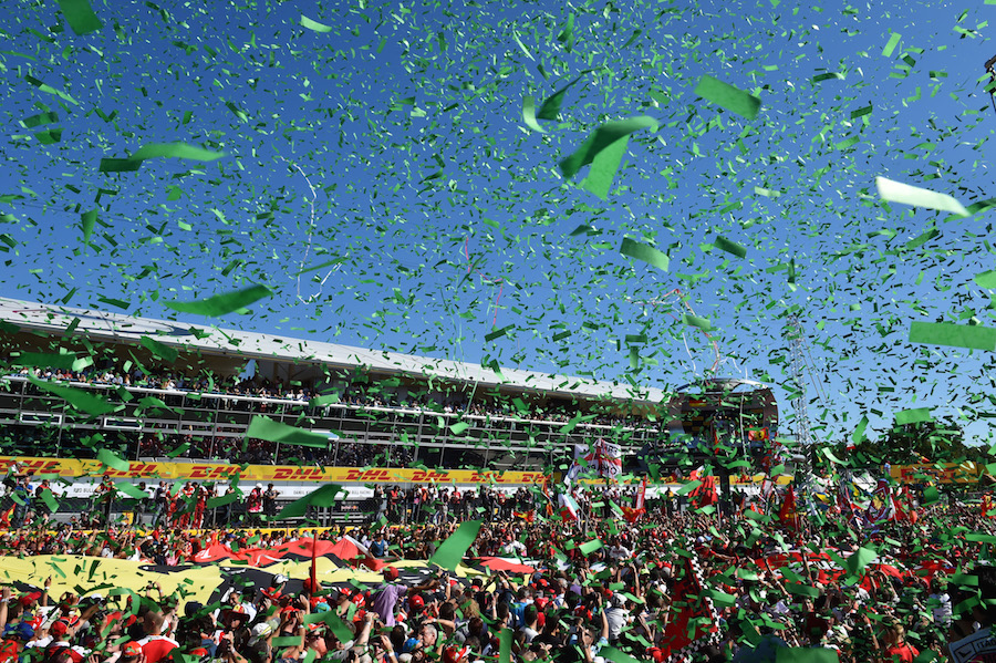 Fans and celebrations