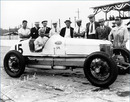 Frank Lockhart and his team at Indianapolis