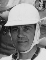 Bill Vukovich at the 1955 Indianapolis 500