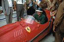 Mike Hawthorn after retiring from the German Grand Prix