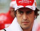 Fernando Alonso ahead of the race