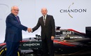 Christophe Navarre and Ron Dennis
