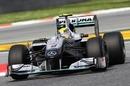 Nico Rosberg during Free Practice 1