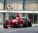 Tonio Liuzzi on his way to winning the F3000 race