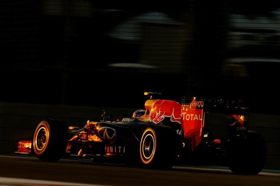 Daniel Ricciardo pulls its pace from the Red Bull