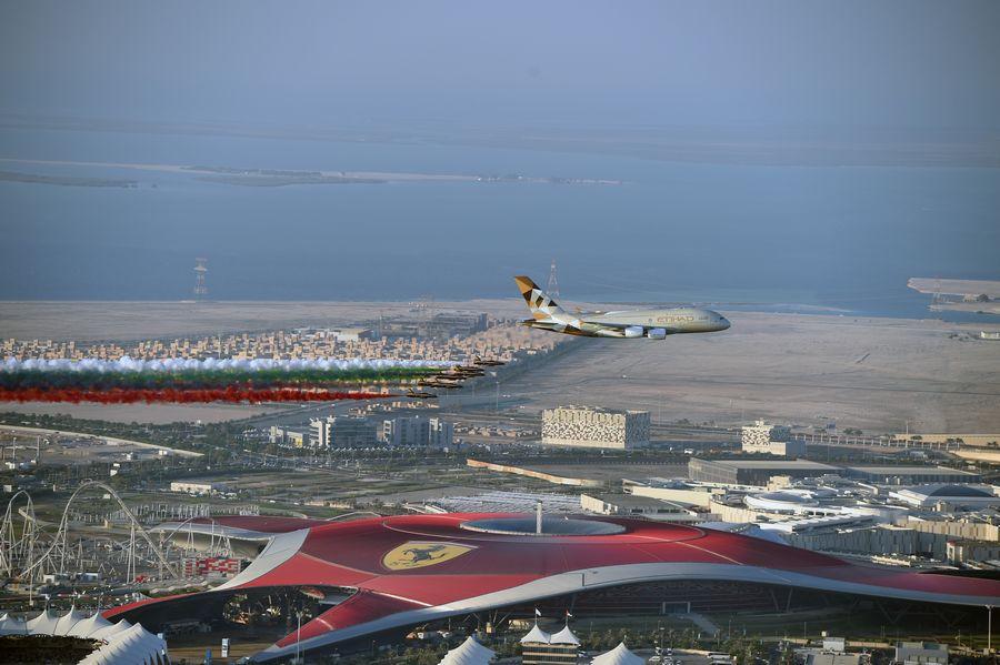Flypast at Abu Dhabi