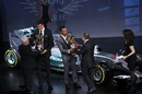 Lewis Hamilton and Mercedes picked up their championship trophies