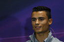Pascal Wehrlein attends the press conference