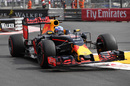 Daniel Ricciardo on track with supersoft tyres