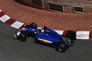Marcus Ericsson on track in Sauber