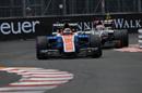 Pascal Wehrlein leads Romain Grosjean