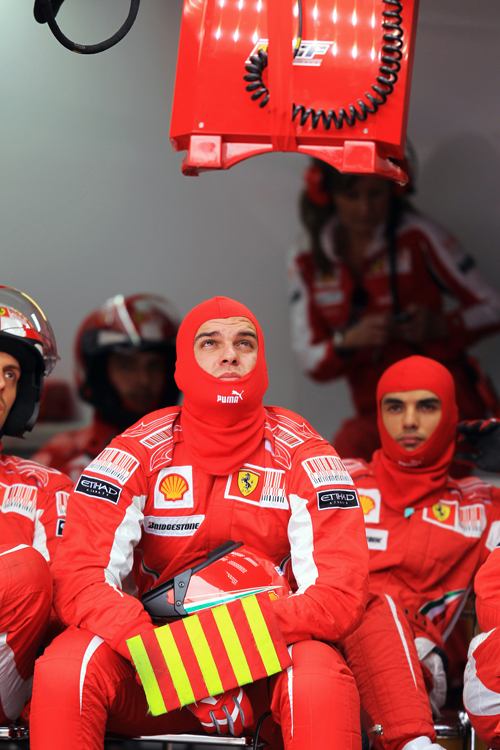 Feeling the strain in the Ferrari garage
