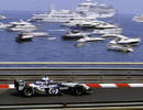 Juan Pablo Montoya on his way to victory at Monaco