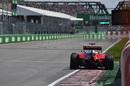 Kimi Raikkonen runs wide