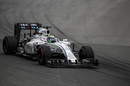 Felipe Massa behind the wheel of the Williams
