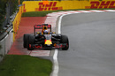 Daniel Ricciardo  runs wide