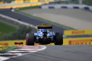 Marcus Ericsson at speed in the Sauber