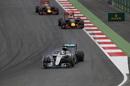 Lewis Hamilton locks up