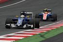 Marcus Ericsson leads Rio Haryanto