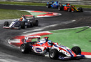 Jolyon Palmer on his way to victory in race 1 of the Formula Two Championship in Monza