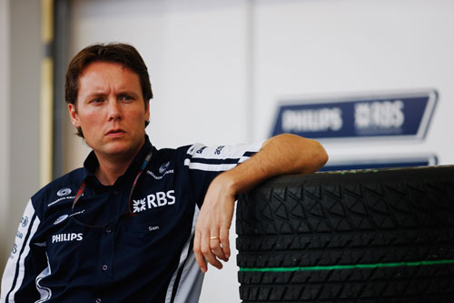 Williams technical director Sam Michael at the 2009 Japanese Grand Prix