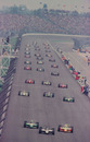The start at the Indianapolis 500