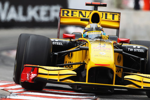 Robert Kubica on his way to third at the Monaco Grand Prix