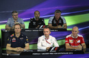 The Friday press conference in Hockenheim