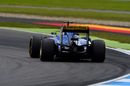 Marcus Ericsson on track in the Sauber