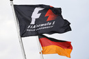 German and F1 flags