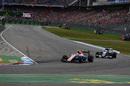 Rio Haryanto leads Marcus Ericsson
