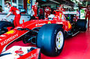 Sebastian Vettel puts Pirelli's 2017 tyres on the modified SF15-T