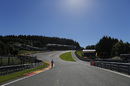 Track view at Spa Francorchamps