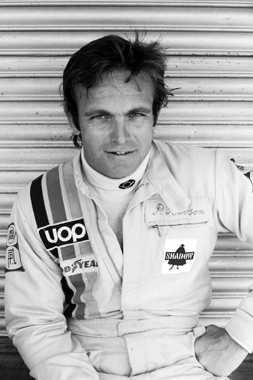 Peter Revson at the 1974 Argentinean Grand Prix