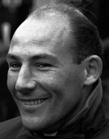 Stirling Moss at the 1961 British Grand Prix
