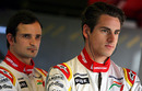 Adrian Sutil and Vitantonio Liuzzi