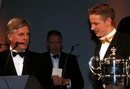 Jenson Button wins the McLaren Autosport BRDC Young Driver Award