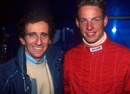 Jenson Button meets Alain Prost