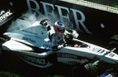 Jenson Button retires from the 2000 San Marino Grand Prix